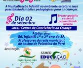 1ª Oficina Pedagógica de Palestina do Pará:  A musicalização presente na Educação