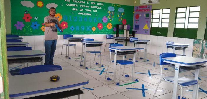 Visita as Escolas Abdulia P. Diniz e Princesa Isabel